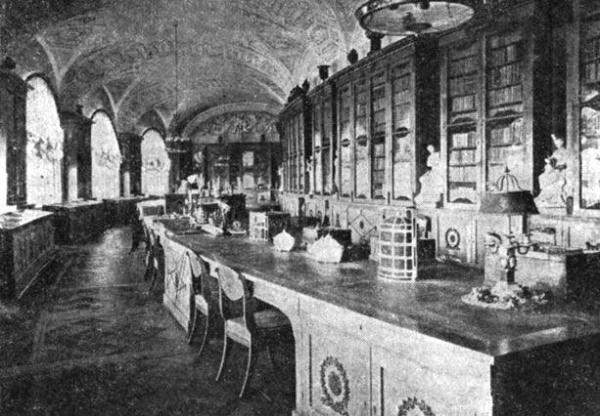 павел 1 библиотека Иоганна Корфа