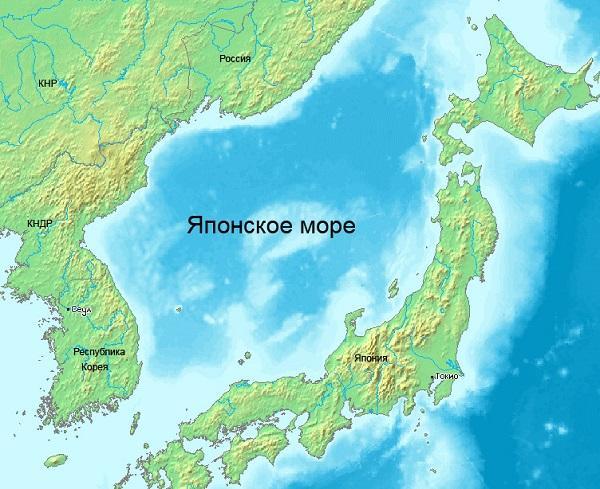 японское море омывает 4 страны