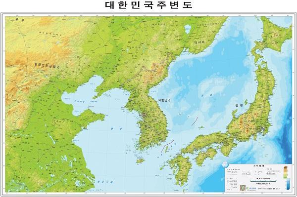 корея и восточное море