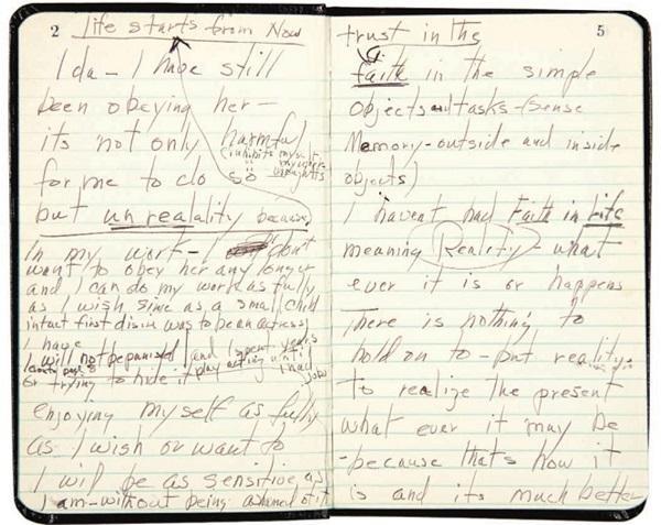 мэрилин монро дневник