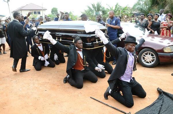 похороны в гане