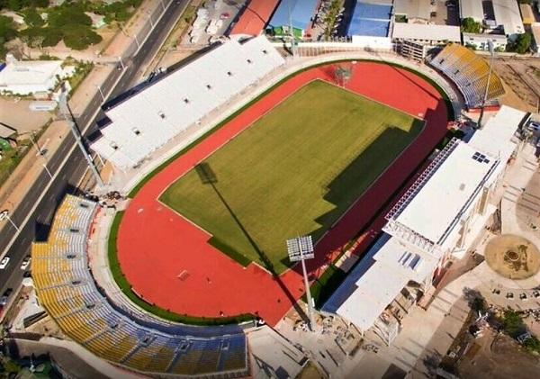 стадион в городе Конакри