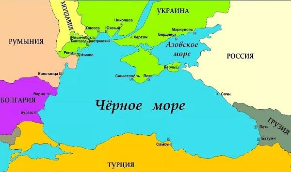 страны черного моря