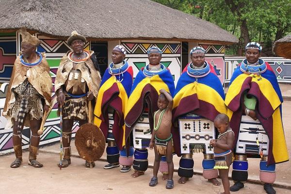 национальные костюмы зимбабвийцев